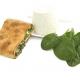 scacce ricotta e spinaci