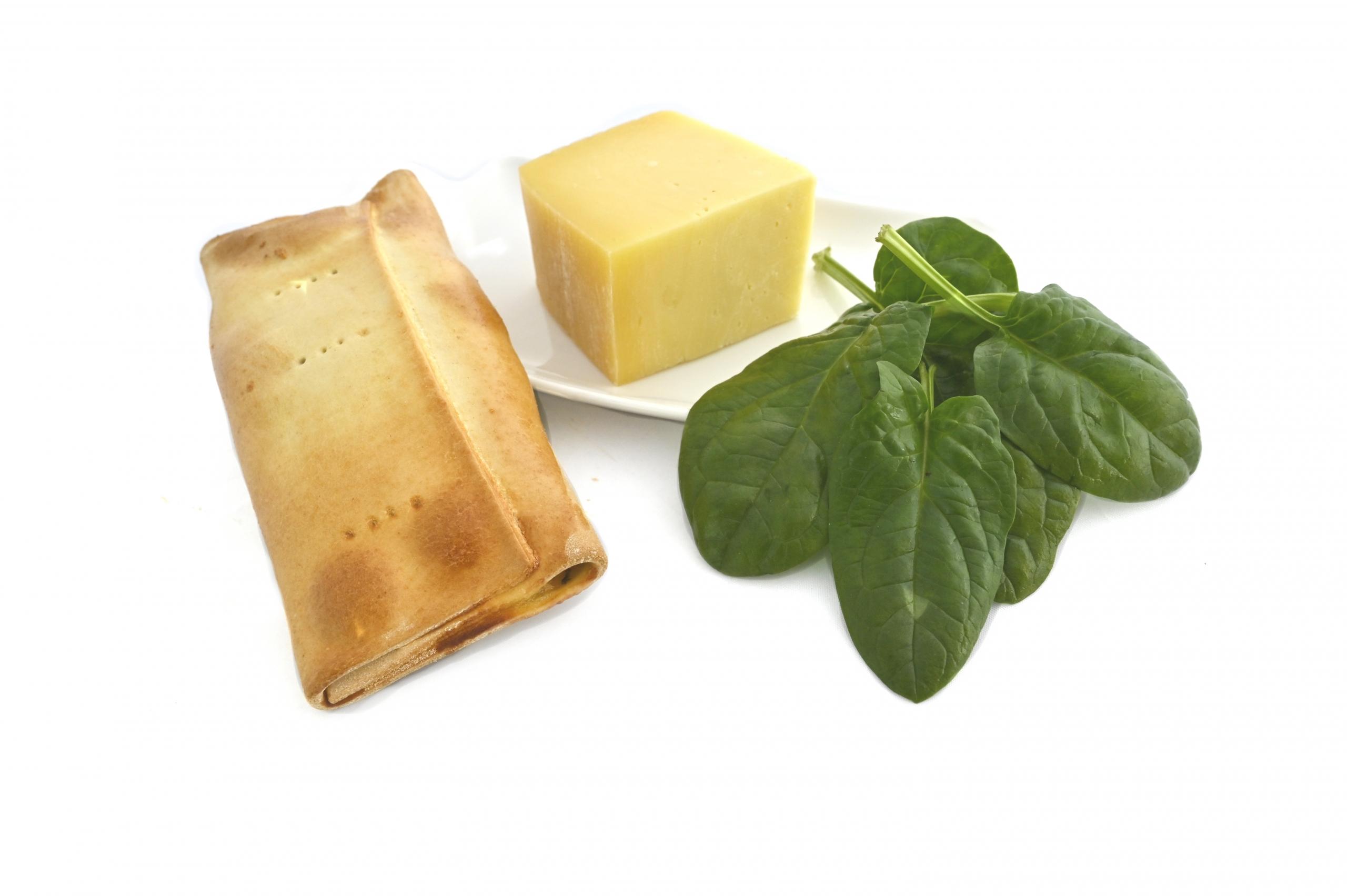 scacce spinaci e formaggio