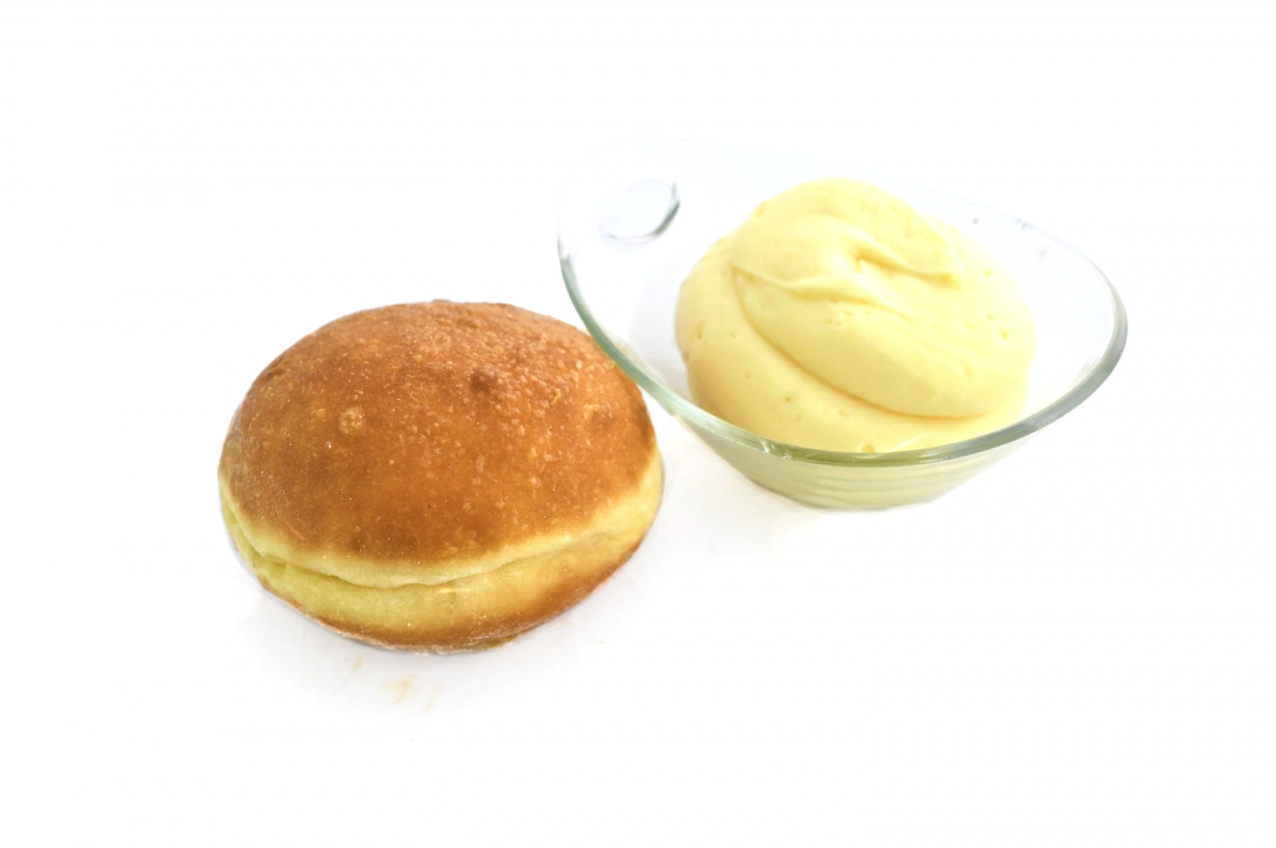 krapfen crema bianca