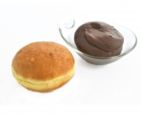 krapfen crema cioccolato
