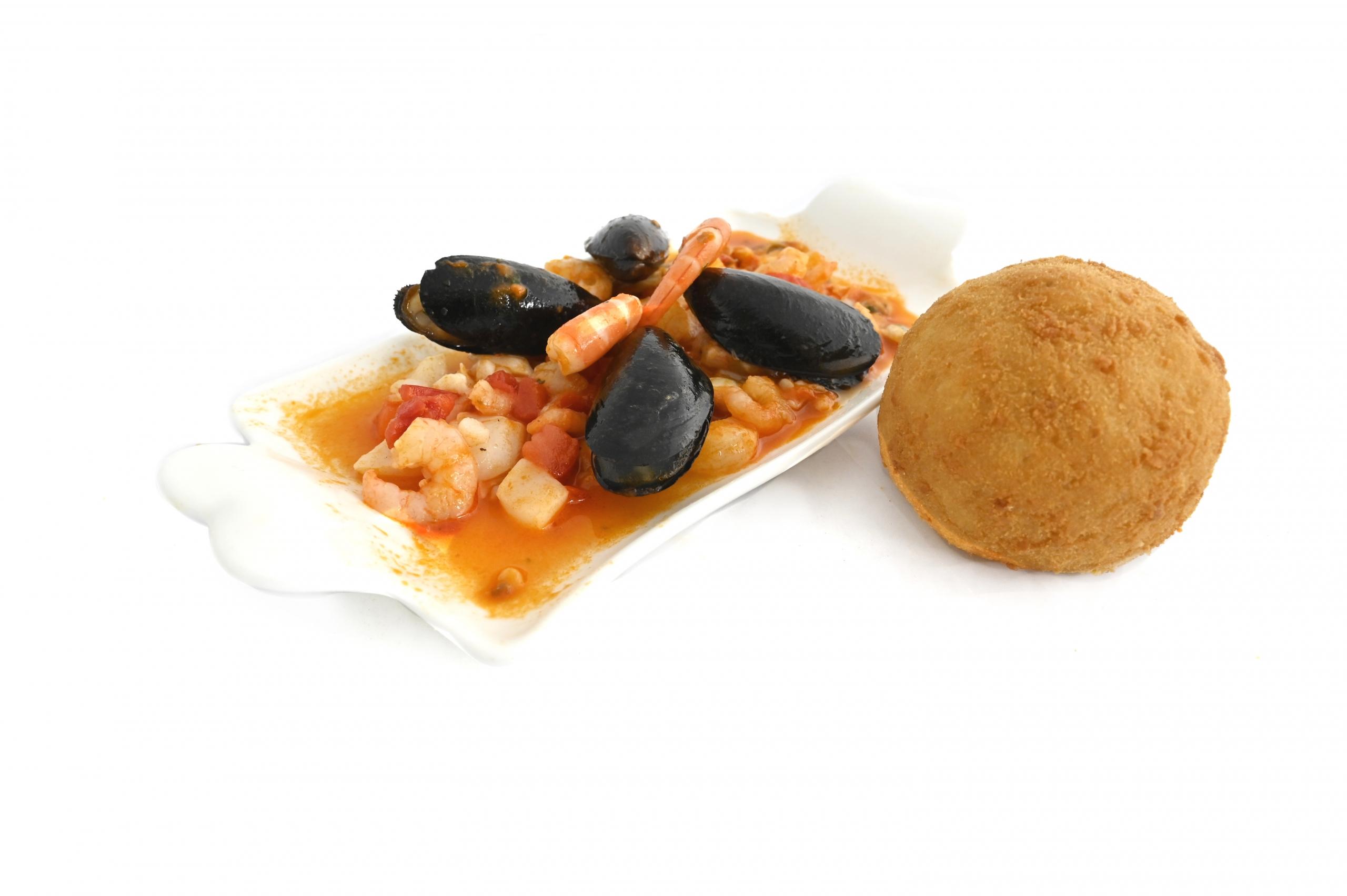 arancine frutti di mare